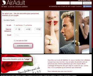 AirAdult, une rencontre adultère assurée