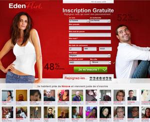 Edenflirt, un site de rencontre de référence